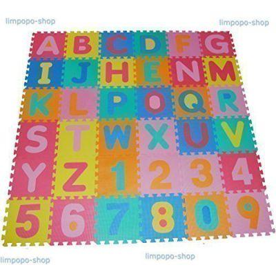 86 piezas esterilla de juego alfombra para ni os esterilla - Alfombra puzzle ninos ...
