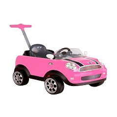 Avigo - Mini Cooper Push Buggy Rosa