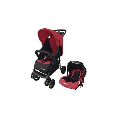 Babies R Us - Dúo Strong Travel System Rojo y Negro