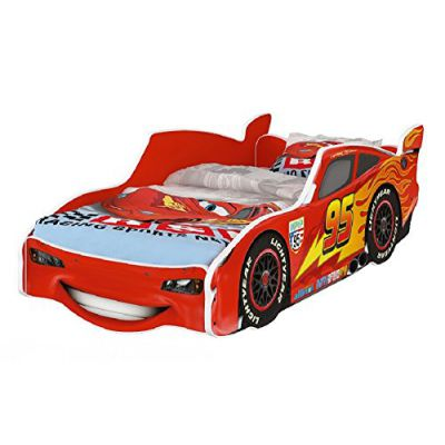 Hogartrend cama coche rayo mcqueen infantil disney cars - Cama coche infantil ...