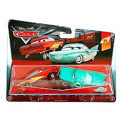Cars  - Pack 2 Coches - Lightning Ramone y Pit Crew Member Flo