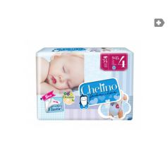 Chelino Fashion & Love T4 9-15kg 28 pañales