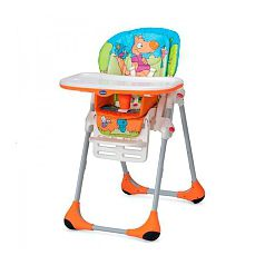 Chicco - Trona Polly 2 en 1 Wood Friends