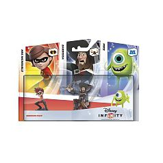 Disney Infinity 2.0 - Pack 3 figuritas: Companion (Helen, Barbossa, Mike)
