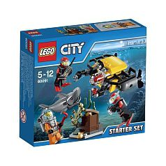 LEGO City - Set de Introducción: Exploración Submarina - 60091