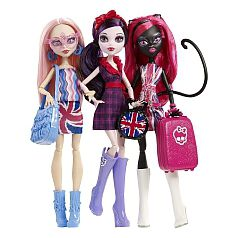 Monster High - Pack Celebrity Tour
