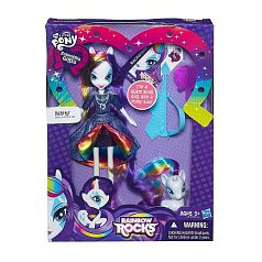 My Little Pony - Muñeca Equestria Girl con Pony - Rarity