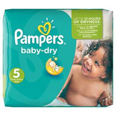 Pampers - Baby dry junior 11 - 25kg (144 unidades)