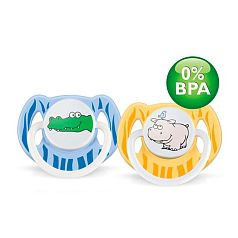 Philips Avent - Pack 2 Chupetes Decorados 3-6M Sin BPA - SCF172/18