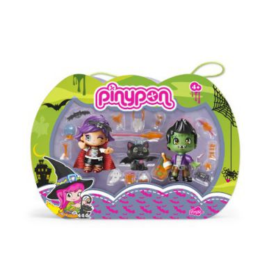 Pinypon - Pinymonsters, pack de 2 figuras