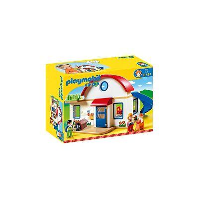 Playmobil 1 2 3 casa moderna 6784 playmobil puerimundo for Casa moderna playmobil