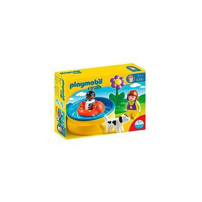 Playmobil 1 2 3 piscina 6781 playmobil puerimundo for Piscina playmobil