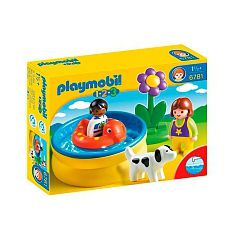 Playmobil 1.2.3 - Piscina (6781)