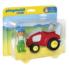 Playmobil 1.2.3 - Tractor - 6794