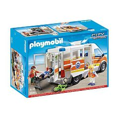 Playmobil - Ambulancia con Sirena - 5541