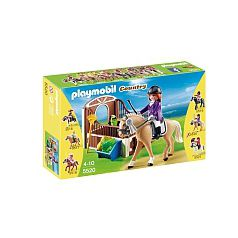 Playmobil - Caballo Warmblood con Establo - 5520