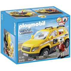 Playmobil City Action - Coche de supervisión (5470)