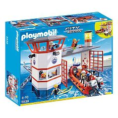 Playmobil - Estación Guardacostas con Faro - 5539