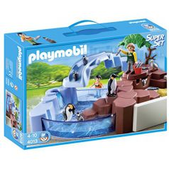 Playmobil - Zoo: superset piscina pingüinos (4013)