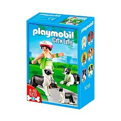 Playmobil  - Border Collies con Cachorro - 5213