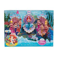 Princesas Disney - Pack 7 Mini Sirenas