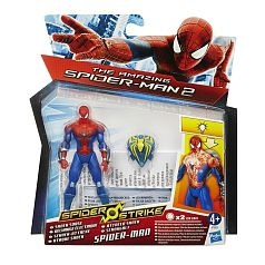 Spider-man - Figura Spider Strike - Ataque Shock
