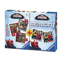 Spider-Man - Multipack Memory + 3 Puzzles