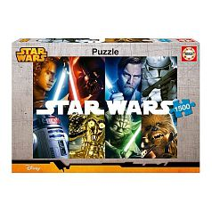 Star Wars - Puzzle 1500 Piezas - Star Wars