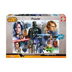 Star Wars - Puzzle 3000 Piezas - Star Wars Panorama
