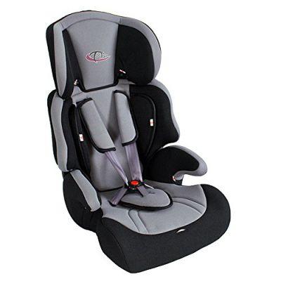 Tectake silla de coche para ni os grupos 1 2 3 pesos de 9 36 kg negro gris tectake puerimundo - Silla ninos coche ...