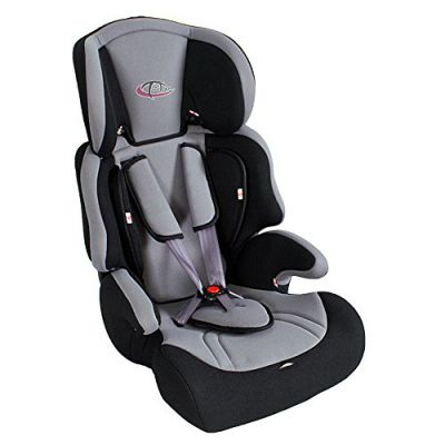 Tectake silla de coche para ni os grupos 1 2 3 pesos de 9 36 kg negro gris tectake puerimundo - Normativa sillas de coche para ninos ...